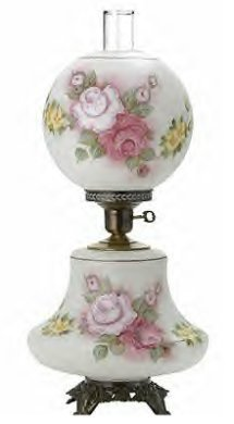 20387 Gone With the Wind Lamp