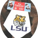 Louisiana State LSU Golden Tiger Dog Bandana Official NCAA Sports Pet Apparel