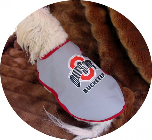 Ohio State Buckeyes Officially Licensed NCAA Team Dog Wrap Size Small