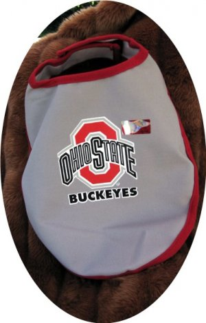 Ohio State Buckeyes Officially Licensed NCAA Team Dog Wrap Size Medium