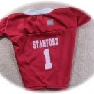 Stanford Cardinal Deluxe NCAA Sports Logo Dog Jersey 2X Size