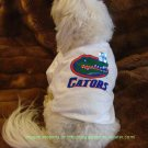 Florida Gators NCAA Sports Dog Apparel Football Tee Shirt Large Size