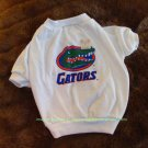 Florida Gators NCAA Sports Dog Apparel Football Tee Shirt Petite Size