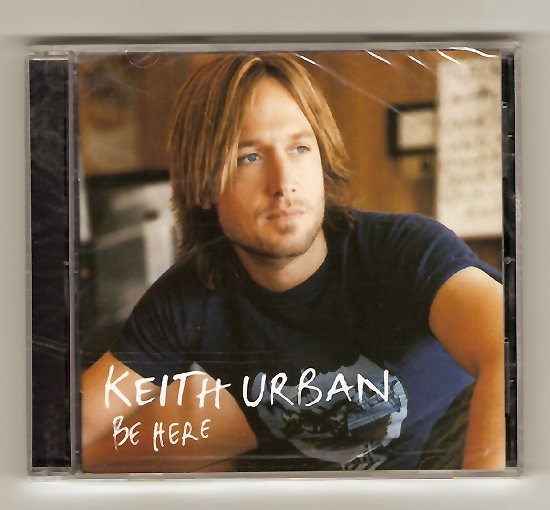 Keith Urban Be Here CD Brand New!