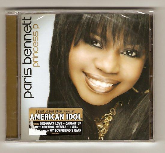 American Idol Paris Bennett Princess P CD Brand New!