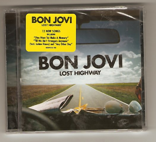 Bon Jovi Lost Highway CD Brand New!