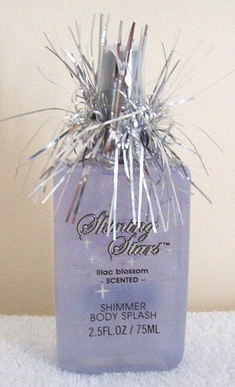 Girls Shining Stars Lilac Shimmer Body Splash Brand New
