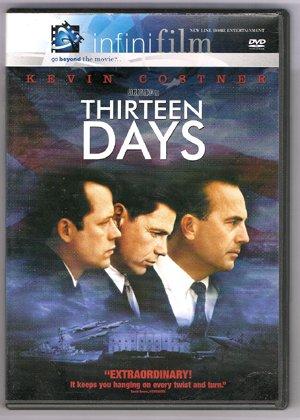 Thirteen Days Kevin Costner DVD - EUC