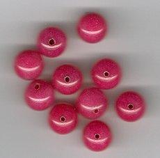 Australian Ruby Jade 10mm Round Beads - Lot of 10