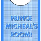 Blue Prince Door Hanger
