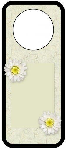 Sunflower Rice Paper Look Door