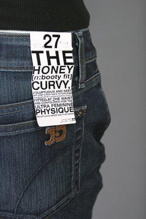 NWT Womens Joe's Jeans Honey Fit Size 27 X 34 Dark Wash