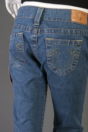 NWT True Religion Womens Bobby Jeans Size 29 X 34