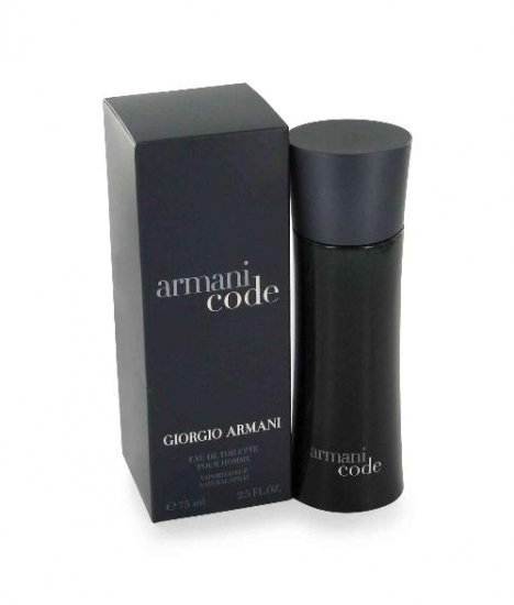 Men's - Armani Code 75mL/2.5 oz