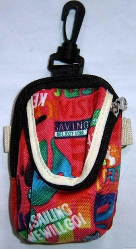 Backpack Style Cell Phone Bag Holder Coin Purse Groovy Tie Dye A Sailing We Will Go #0213