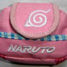 Backpack Style Cell Phone Bag Holder Coin Purse Pink Naruto #0234