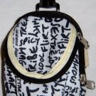 Backpack Style Cell Phone Bag Holder Coin Purse Sex Grafitti Sweet Glamour Trendy Love #0173