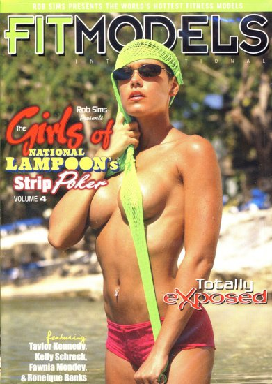 GIRLS OF NATIONAL LAMPOONS STRIP POKER, VOL- 4 NEW DVD SEALED