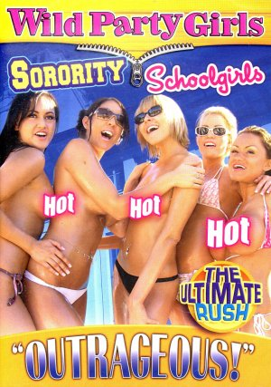 WILD PARTY GIRLS - SORORITY SCHOOL GIRLS NEW DVD VOL-1