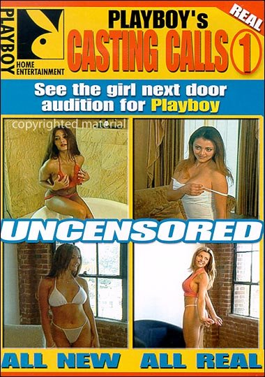 PLAYBOY - Casting Calls 1 New Sealed DVD