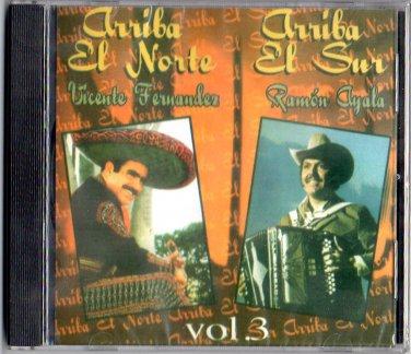 Arriba el Norte y Arriba el Sur Vol-3 - Fernandez, Vicente CD