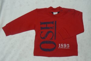 Osh Kosh Red Sweater 12m