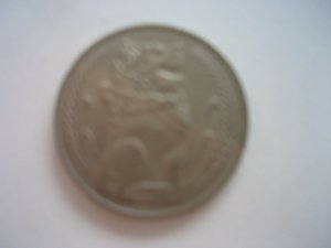 Singapore one dollar coin