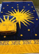 Golden Sun Egyptian Cotton Beach Towel