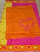 Hearts On The Beach Egyptian Cotton Beach towel