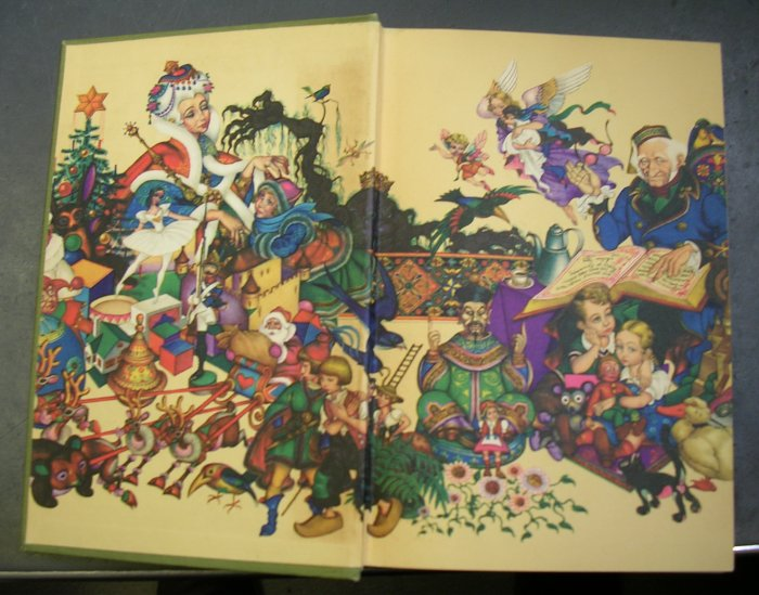 Andersen's Fairy Tales illustrations by Arthur Szyk 1945