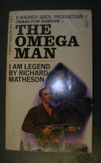 The Omega Man, I Am Legend by Richard Matheson Paperback 1971