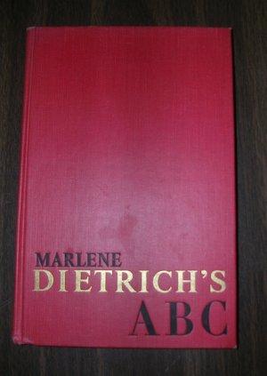 Marlene Dietrich's ABC 1962 no DJ, HB
