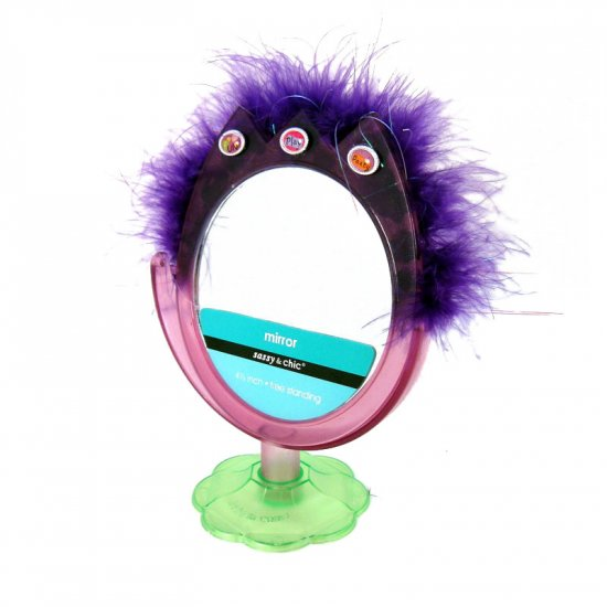 Feathered mirror