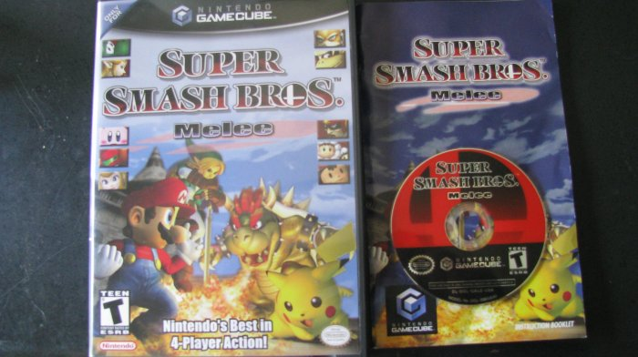 Super Smash Bros Melee Nintendo Gamecube
