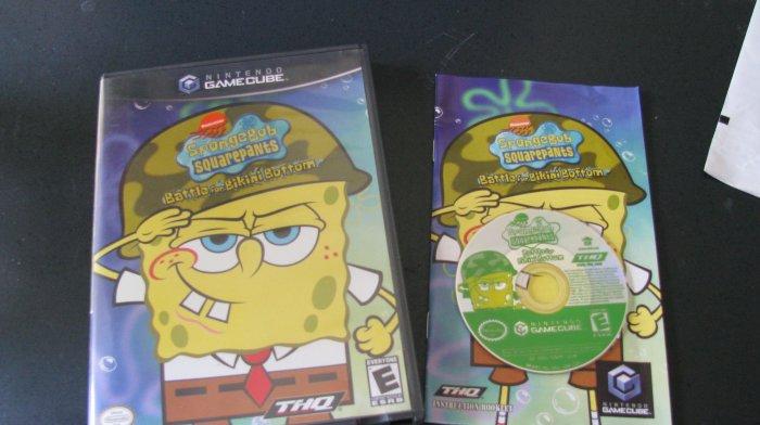 Spongebob Squarepants Battle for Bikini Bottom Nintendo Gamecube