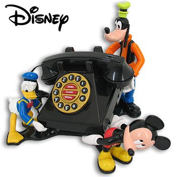 MICKEY & FRIENDS ANIMATED TALKING TELEPHONE