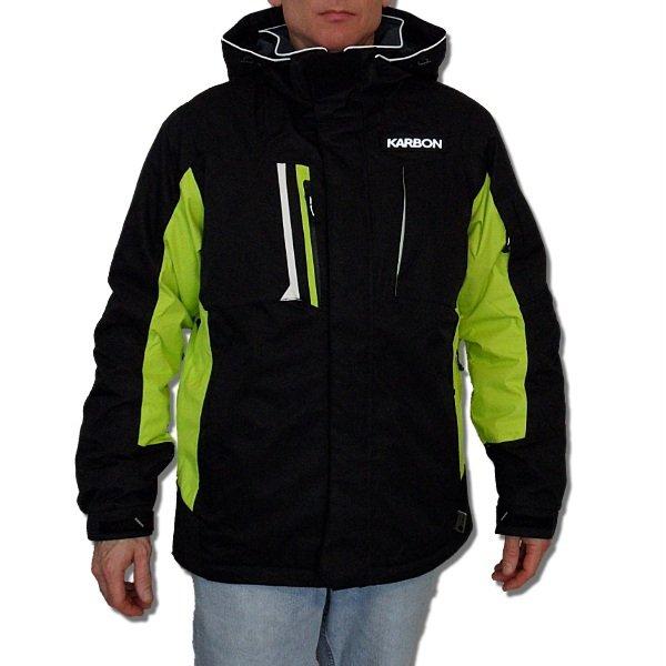 K0102 Karbon Graphite Alpha Helium Ski Jacket - (Size Medium)
