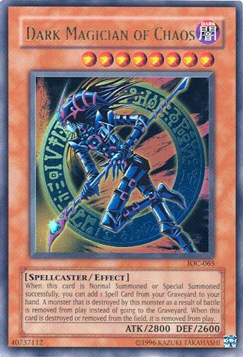 Lightning Vortex & Dark Magician of Chaos