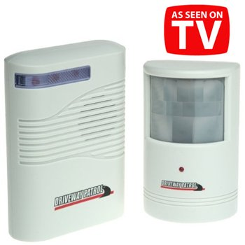 DRIVEWAY PATROL INFRARED WIRELESS ALERT SYSTEM-PP1731