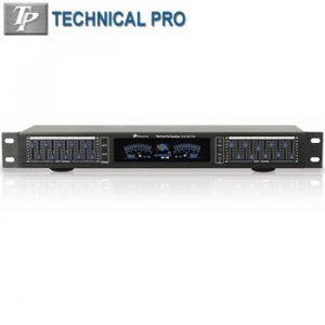 PROFESSIONAL EQUALIZER WITH DIGITAL SPECTRUM-PP2347