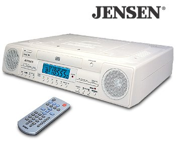 UNDER CABINET AM/FM STEREO CD PLAYER-PP1735