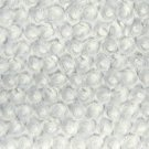 Snow White Cuddle Minky Rosebud Plush Baby Blanket Fabric