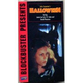 JOHN CARPENTERS HALLOWEEN VHS