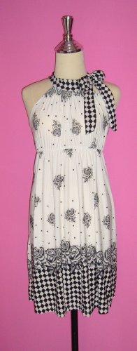 Rose-Printed Dress