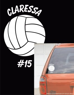 Volleyball - Custom White