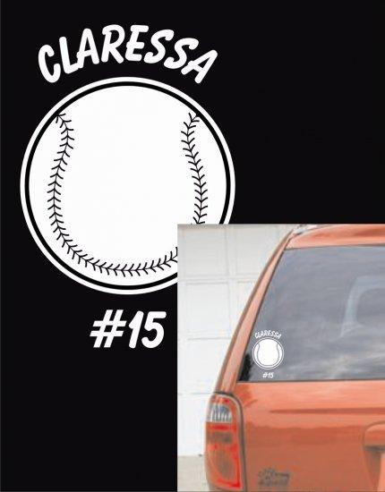 Softball - Custom White