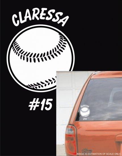 Baseball  - Custom White