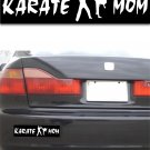 Karate Mom - Black Bumper Sticker