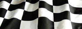 Racing Flag - Truck Window Perf