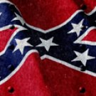 Rebel Flag w/ Rivets - SUV Window Perf